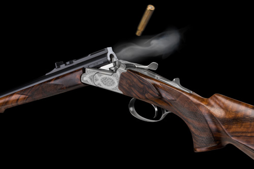 Hubertus Single Shot Rifle Ejector IWA 2014